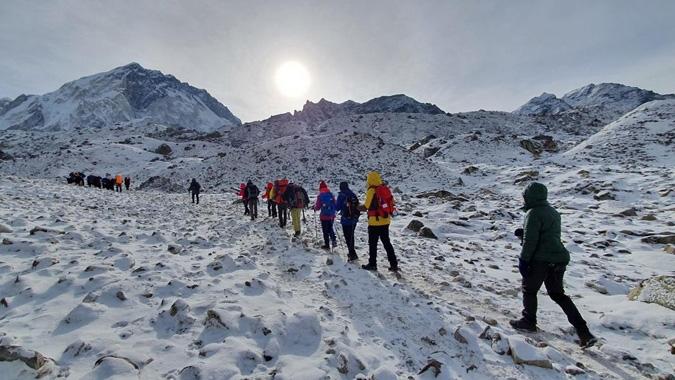 Mount Everest Base Camp Trek Video