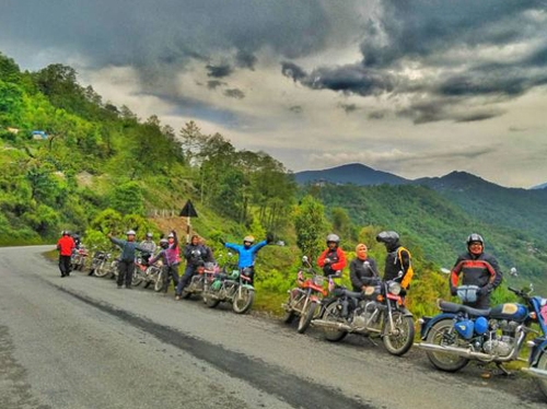 Mustang Ride: Himalayan Epic Royal Enfield Ride in Nepal
