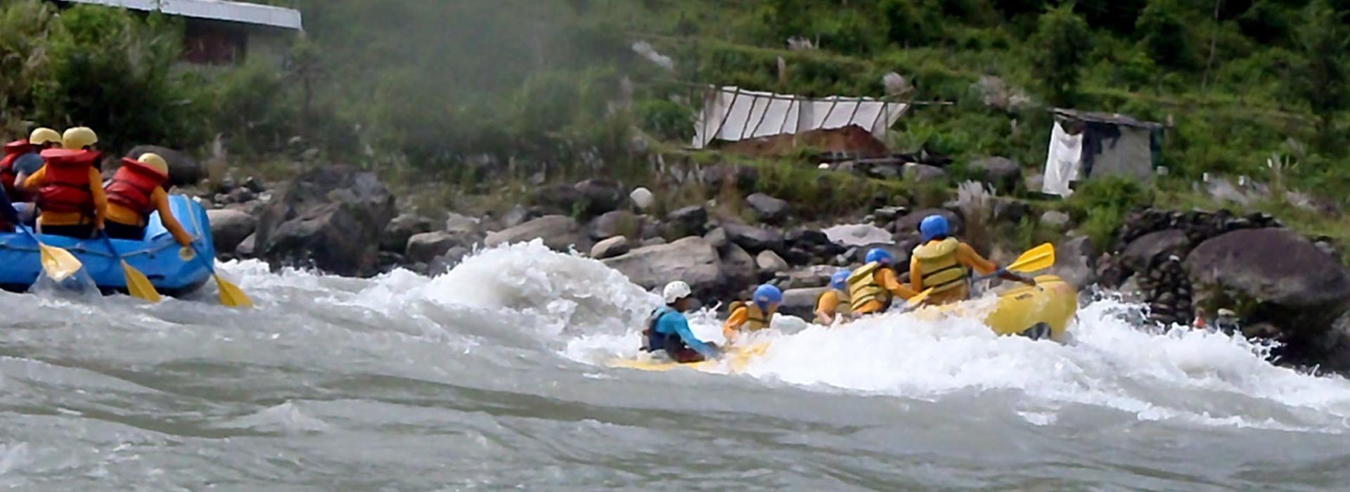 Bhote Koshi River Rafting