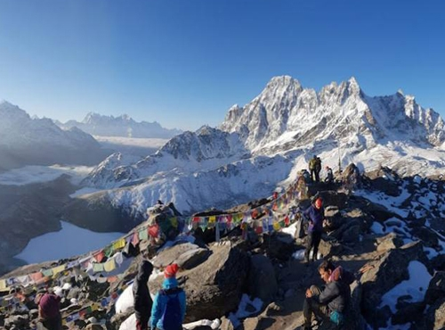 Everest Base Camp Trek via Gokyo Lakes and Cho La Pass
