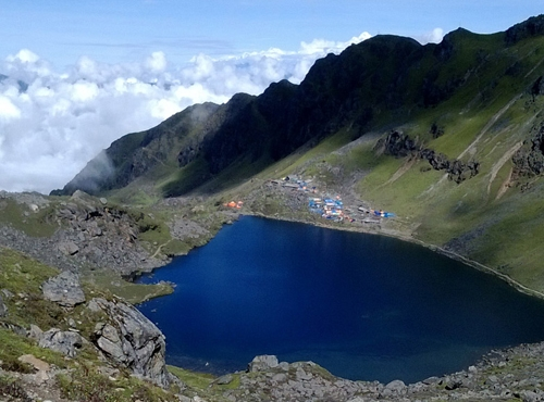 Gosaikunda Lake trekking in Nepal